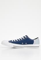 Converse - Chuck Taylor all star - ox - navy/wolf grey/white