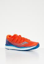 Saucony Running - Freedom iso 2 mens - blue & orange