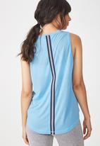 Cotton On - Mock neck tank top - blue