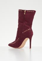 Footwork - Pamela boot - burgundy