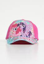 Character Fashion - My Little Pony peak cap - pink
