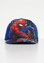 Character Fashion - Spider Man peak cap - blue