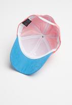 Superbalist - Kids girls peak cap - pink & blue
