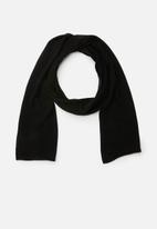 Superbalist - Lightweight scarf - black
