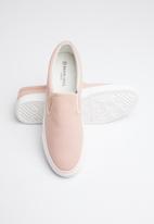 Brave Soul - Skate plain canvas sneakers - pink