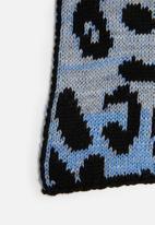 Superbalist - Woven leopard print scarf - multi
