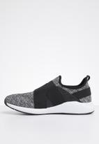 Brave Soul - Sam nylon sneakers - black & white