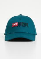 Diesel  - Cakerym-max curved peak cap - blue