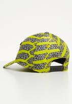 Diesel  - C-aest curved peak cap - yellow