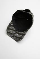Diesel  - C-aest curved peak cap - black