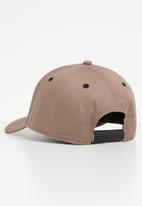 Diesel  - Cakerym-max curved peak cap - brown