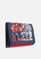 Character Fashion - Spider-man wallet - red & navy