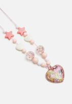 Character Fashion - Barbie necklace - multi