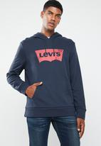 Levi's® - Graphic PO hoodie G solid - navy