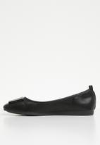 Butterfly Feet - Selby back elastic pump - black
