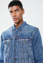 Levi's® - Unbasic icon takedown bolt trucker jacket - blue