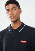 Levi's® - Long sleeve modern HM polo patch tee - black