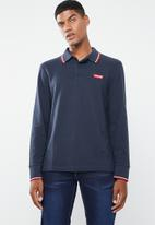 Levi's® - Long sleeve modern HM polo patch tee - navy