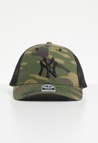 47 Brand - 47 Mvp  branson trucker - NY Yankees - green & black
