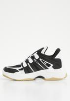 Superbalist - Alex sneaker - black & white