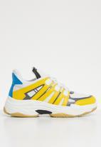 Superbalist - Alex sneaker - yellow & white