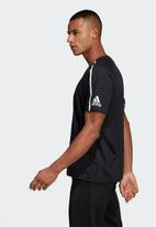 adidas Performance - Crew short sleeve tee - black