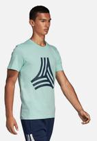 adidas Performance - Tango GR crew short sleeve tee - green