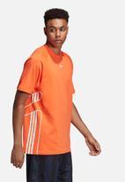 adidas Performance - Flame-strike short sleeve T-shirt - orange