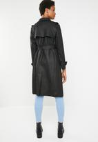 dailyfriday - Check coat - black & grey