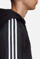 adidas Originals - Radkin full zip hoodie - black & white