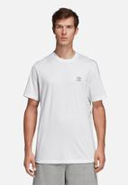 adidas Originals - Monogram short sleeve crew tee - white
