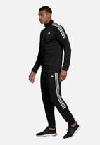 adidas Performance - Team sports tracksuit - black & white