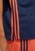 adidas Originals - Mesh polo tee - navy