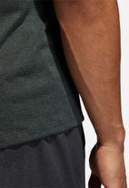 adidas Performance - FL_TEC crew short sleeve top - grey