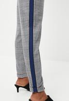 ONLY - Sophie check track panel pants - multi