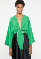 STYLE REPUBLIC - Kimono blouse - green