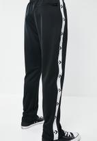 Converse - Star chevron track pants - black