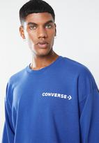 Converse - One star block pack crew neck sweatshirt - multi