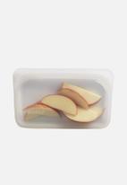 Stasher - Reusable silicon snack bag - clear