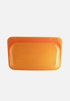 Stasher - Reusable silicone snack bag - citrus
