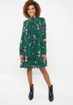 Vero Moda - Karen long sleeve short dress - multi