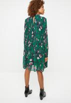 Vero Moda - Karen long sleeve short dress - multi
