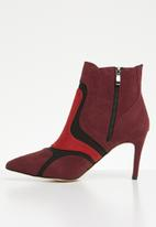 Plum - Rosella stiletto ankle boot - multi