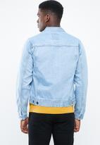 Superbalist - Slim Denim Trucker Jacket - blue