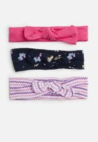Superbalist - Kids girls 3 pack hair band - multi