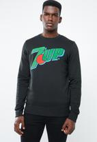 Jack & Jones - Jorpeup sweat crew - black