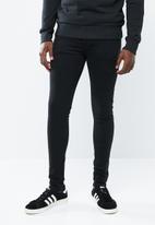 Jack & Jones - Tom skinny fit jeans - black