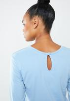 Missguided - Casual loungewear jumpsuit - blue