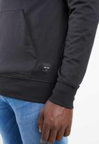 Only & Sons - Danny contrast sweat hood - black