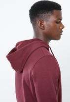 Jack & Jones - Logan sweat hoodie - burgundy